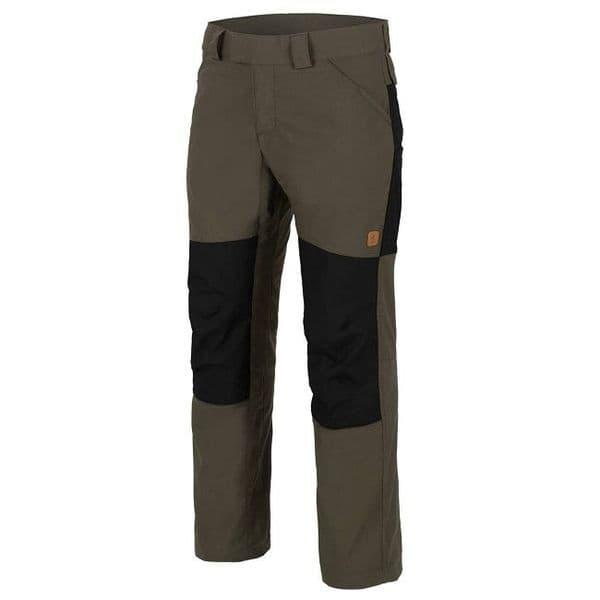 Helikon Woodsman Trousers - Taiga Green/Black