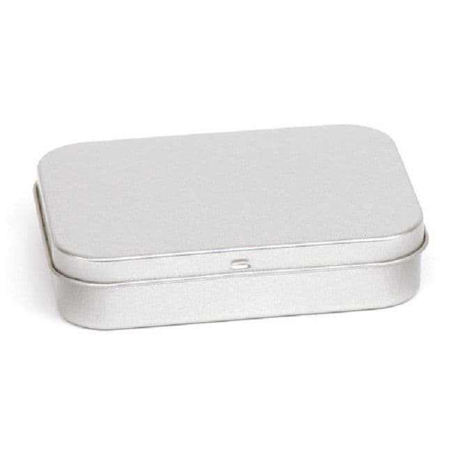 Hinged Lid Tinder Tin or Survival Kit Tin