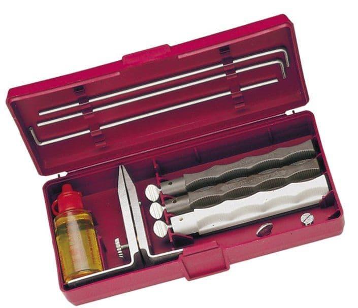 Lansky Natural Arkansas Knife Sharpening System