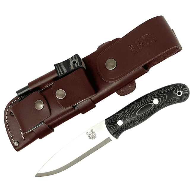 Mk II TBS Boar Bushcraft Knife - Full Cover Multi Carry Sheath Edition - BM