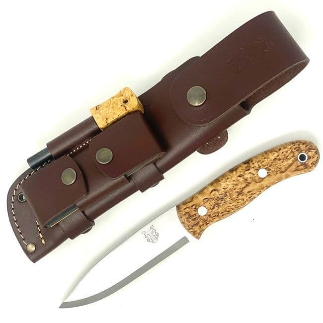 Mk II TBS Boar Bushcraft Knife - Full Cover Multi Carry Sheath Edition - CB