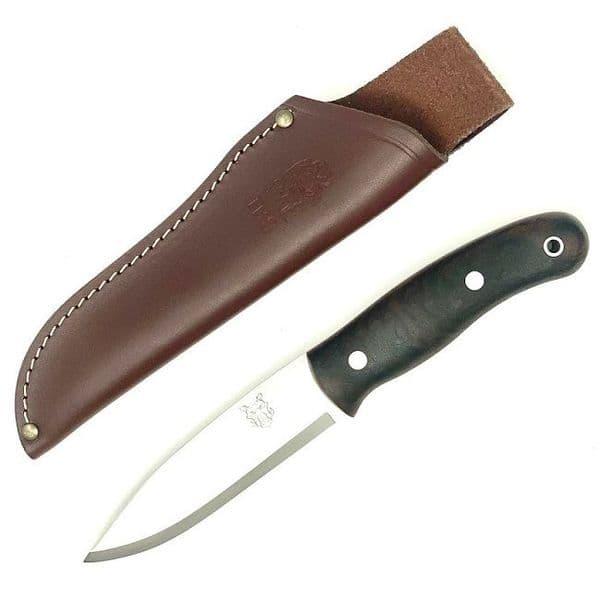 Mk II TBS Boar Bushcraft Knife - Standard Sheath - Turkish Walnut
