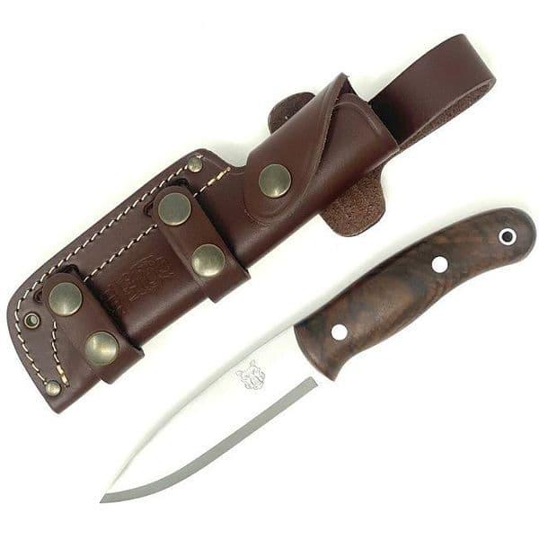 Mk II TBS Boar Bushcraft Knife - Turkish Walnut