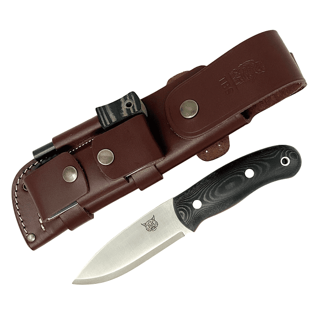 Mk II TBS Lynx Bushcraft Knife - Full Cover Multi Carry Sheath Edition - BM