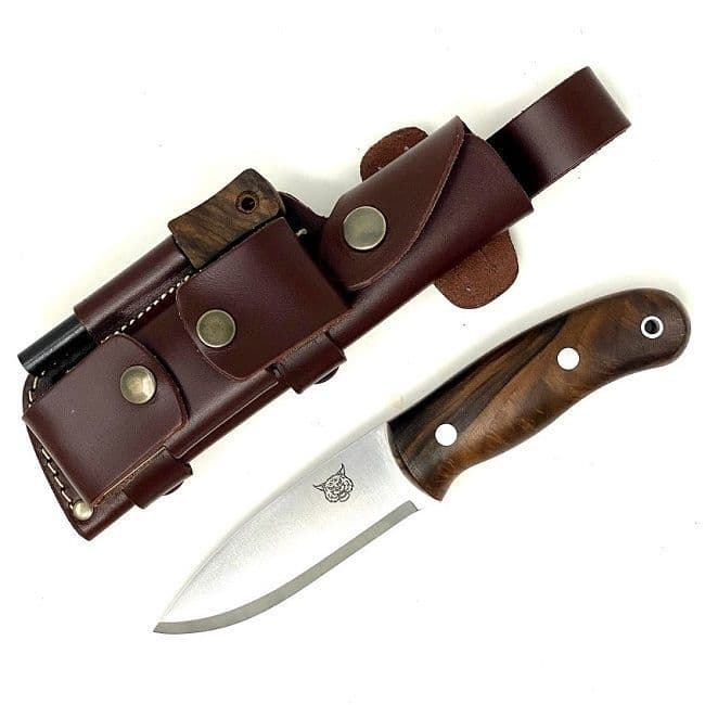 Mk II TBS Lynx Bushcraft Knife - Turkish Walnut - DC4 Edition