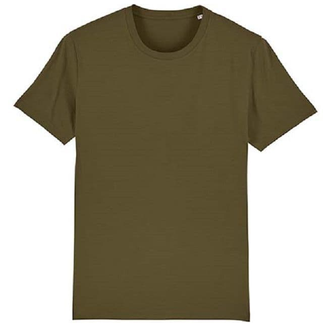 Organic Heavy Duty Cotton T-Shirt - Olive Green
