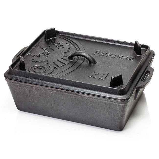 Petromax K8 Loaf Pan with Lid a Rectangular Dutch Oven