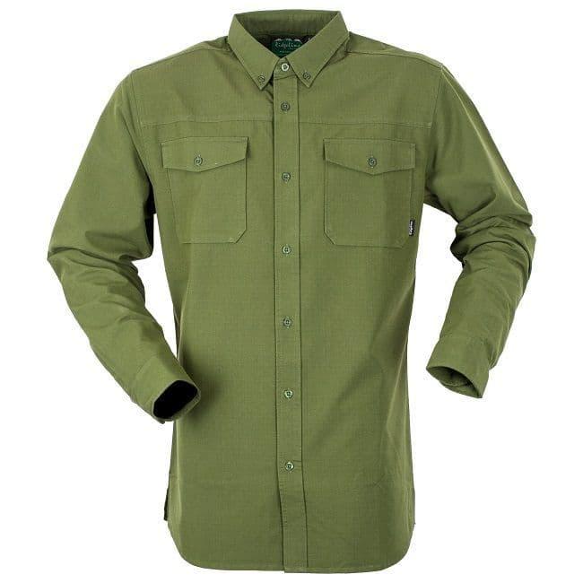 Ridgeline Canterbury Rip Stop Shirt - Olive