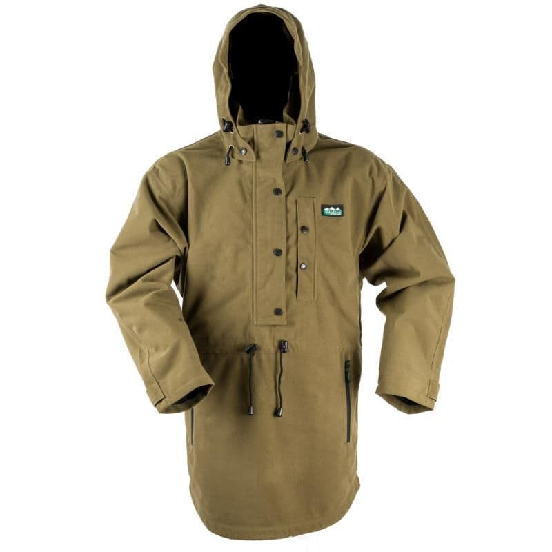 Ridgeline Ladies Monsoon Classic Waterproof Smock Anorak - Teak