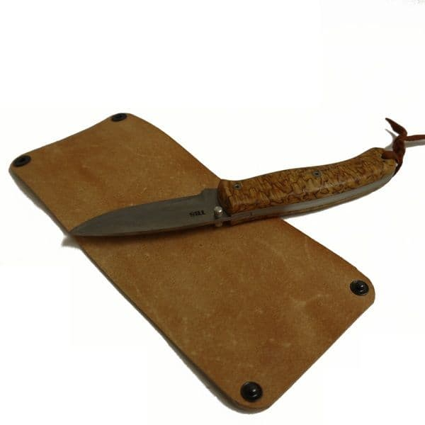 Six Magpies Folding Knife Strop