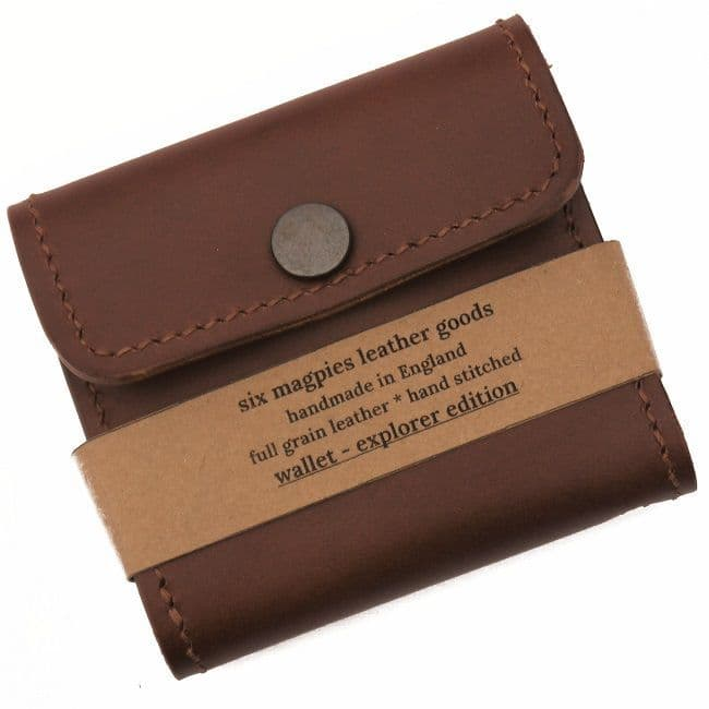 Six Magpies Leather Explorer Wallet