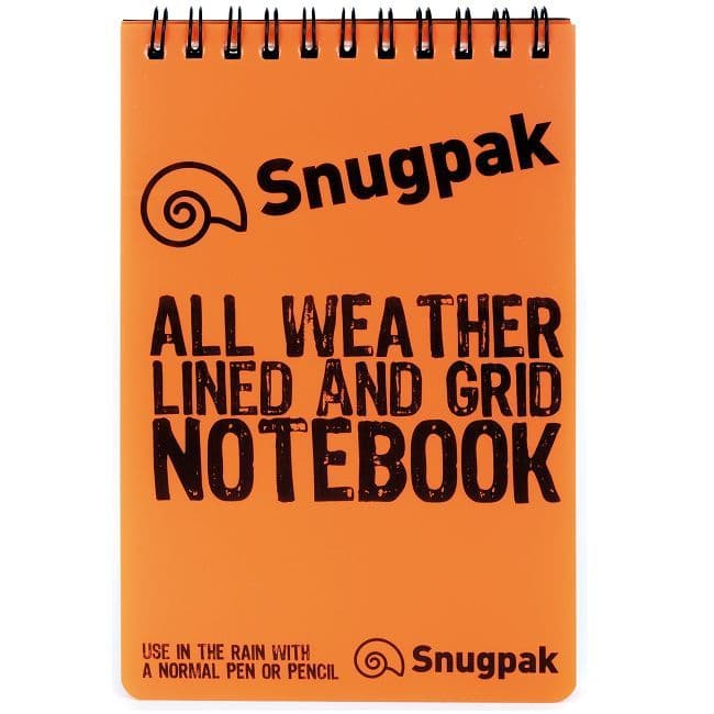 Snugpak All Weather Grid Notebook