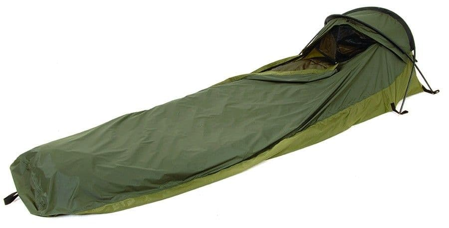 Snugpak Stratosphere Hooped Bivvi Bag - a great one man tent