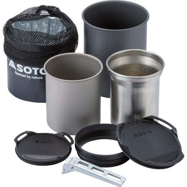 Soto Thermostack Cook Set Combo