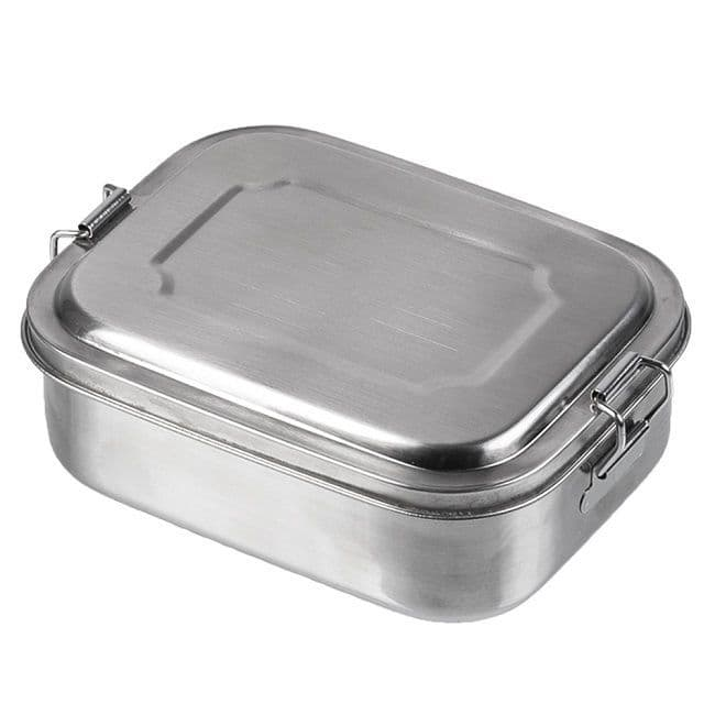 Stainless Steel Lunchbox or Survival Tin