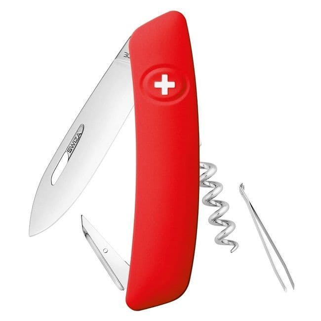 Swiza D01 Multi Function Folding Knife - Non Locking EDC Version