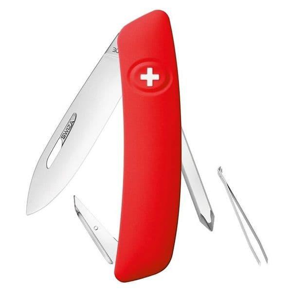 Swiza D02 Multi Function Folding Knife - Non Locking EDC Version