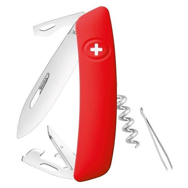 Swiza D03 Multi Function Folding Knife - Non Locking EDC Version