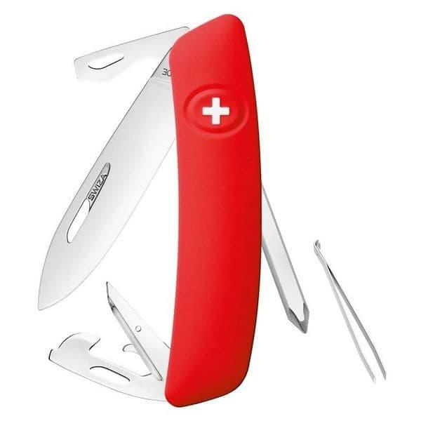 Swiza D04 Multi Function Folding Knife - Non Locking EDC Version