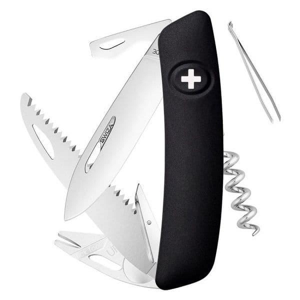 Swiza TT05 Multi Function Folding Knife - Built in Tick Tool