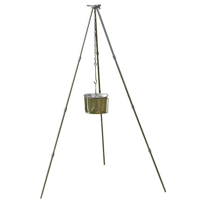 TBS Collapsible Tripod - High quality anodised Aluminium