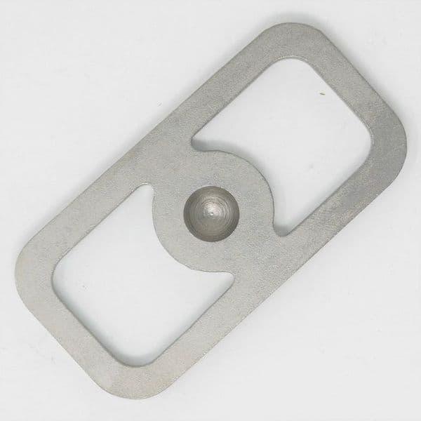TBS Flint & Steel Firesteel - also works well as a bow drill bearing block