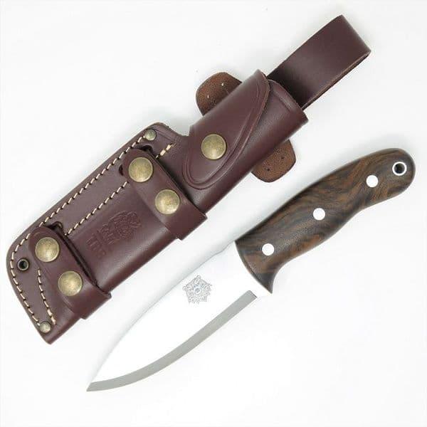 TBS Grizzly Bushcraft Survival Knife - Turkish Walnut