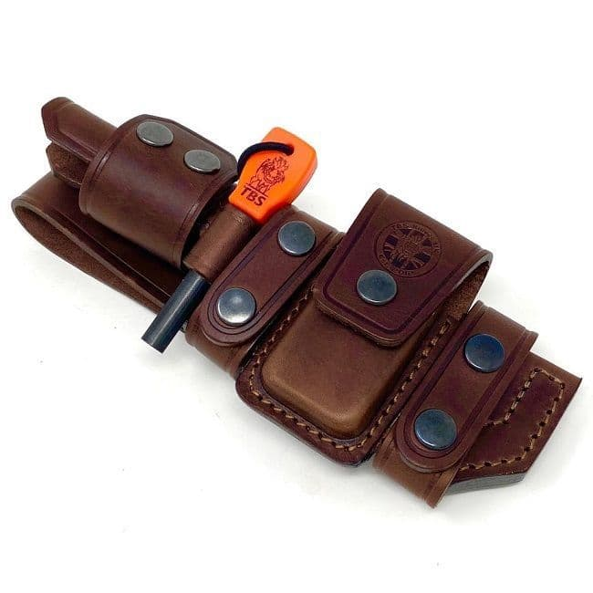 TBS Leather De-Luxe Multi Carry Knife Sheath