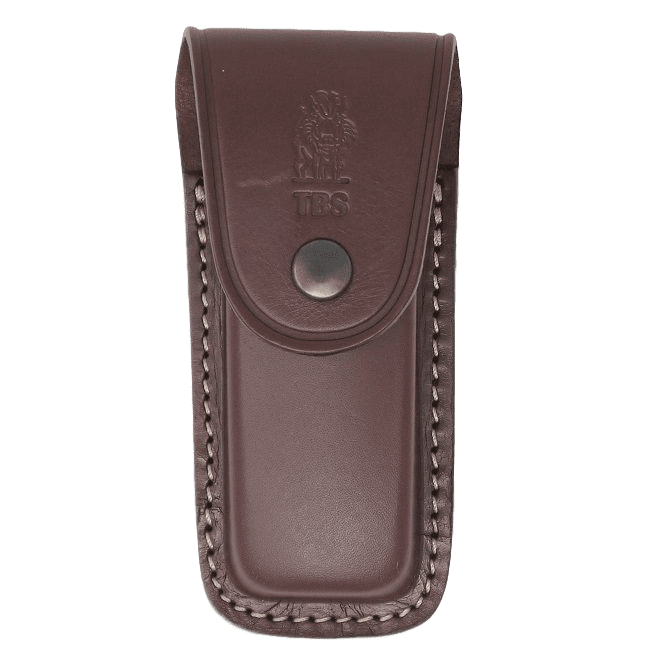 TBS Leather Multi Carry Folding Knife Pouch - Wolverine Size
