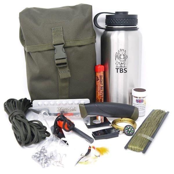 TBS Water Bottle Survival Kit