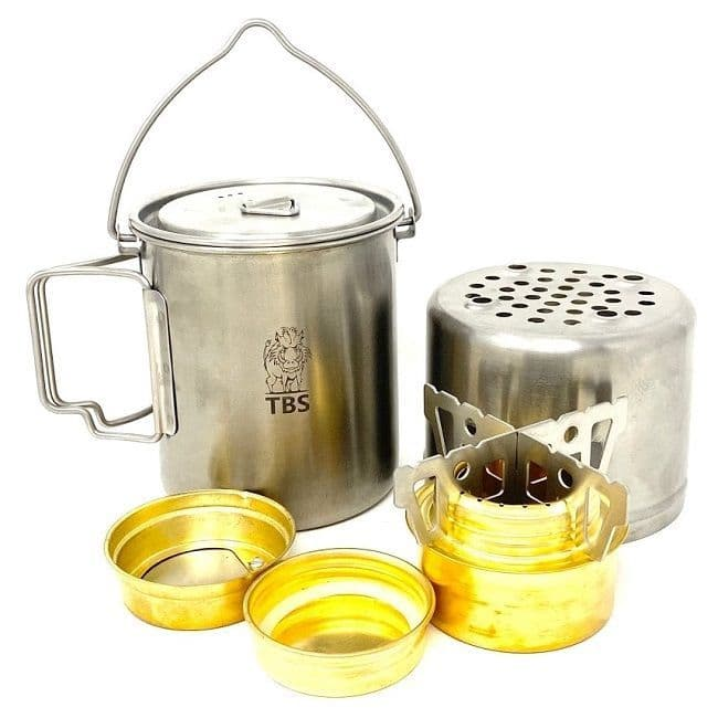 TBS Wilderness Minimalist Cook Kit