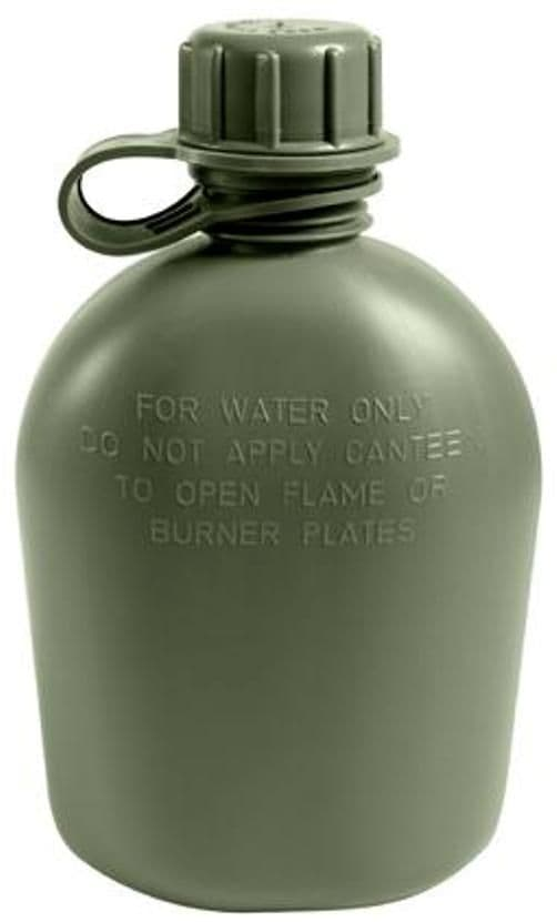 US GI 1 Quart Water Bottle - Genuine Issue Kit - No Fakes