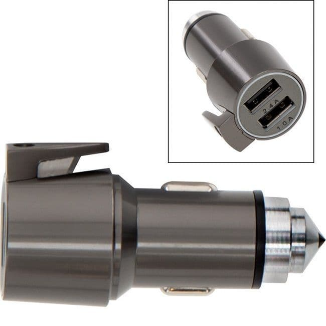 USB Charger and Vehicle Escape Tool