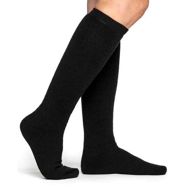 Woolpower Socks - Knee High - Black