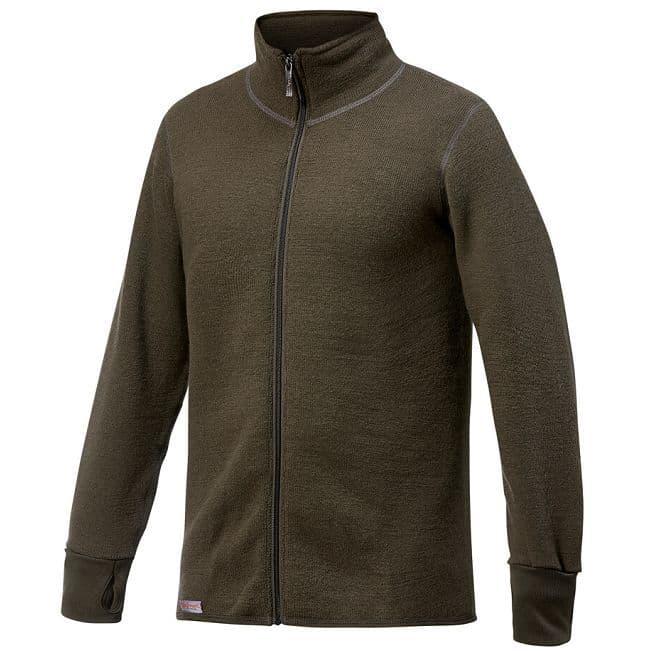 Woolpower Ullfrotte Full Zip Jacket - 600