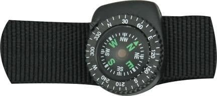 Wristband Button Compass - with wristband