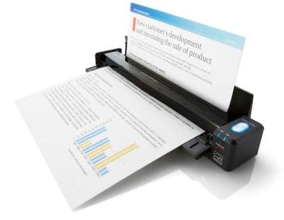 Fujitsu ScanSnap iX100 Mobile Wifi Scanner | PA03688-B001 | www.bmisolutions.co.uk