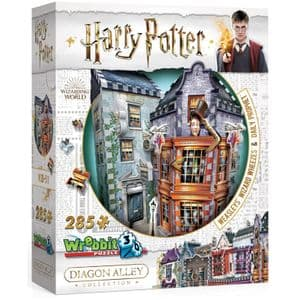 3D 285 Piece Jigsaw - Harry Potter Diagon Alley Collection - Weasley Wizards Wheezes