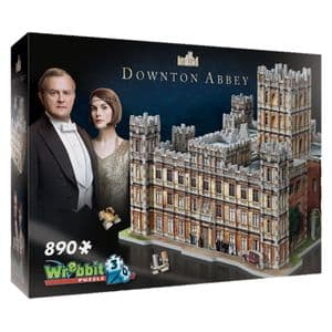 3D 890 Piece Jigsaw - Downton Abbey