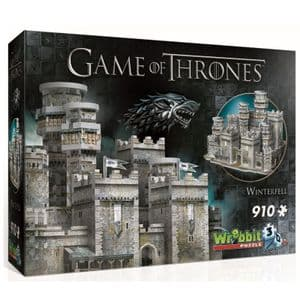 3D 910 Piece Jigsaw - Game of Thrones - Winterfell