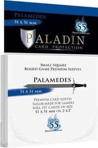 55 x Paladin Card Sleeves: Palamedes (51mm x 51mm)