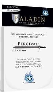 55 x Paladin Card Sleeves: Percival (63.5mm x 89mm)