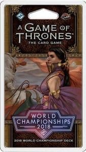 A Game of Thrones: The Card Game (Second Edition) - 2018 Joust World Championship Deck