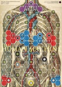 Age of Steam Expansion : Human Body & Synapses