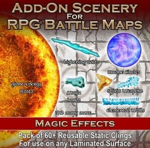 Battle Mats : Add-On Scenery Pack : Magic Effects