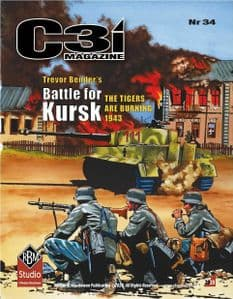 C3i #34 -  Battle for Kursk: The Tigers are Burning, 1943