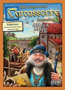 Carcassonne Expansion 5: Abbey and Mayor