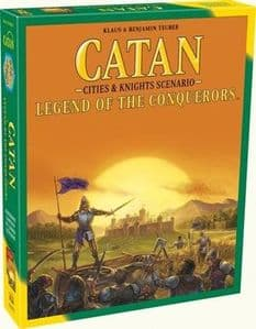 Catan : Cities and Knights - Legend of the Conquerors Expansion