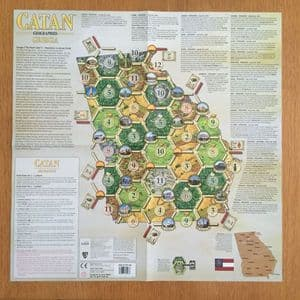 Catan Geographies : Georgia