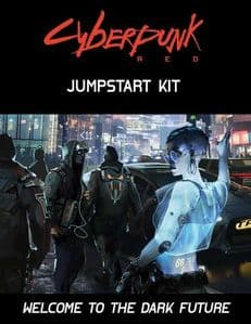 Cyberpunk Red RPG Jumpstart Kit Boxed Set